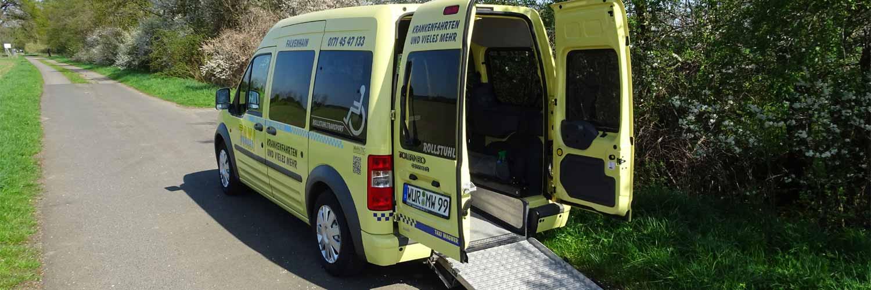 Krankenfahrten mit Taxi Wagner